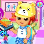 Dora Prepare For School