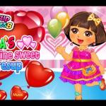 Dora Valentine Sweet Dresup